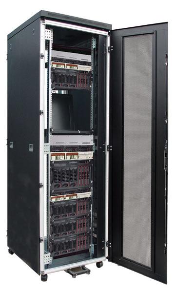 Чем отличается серверный шкаф от стойки?